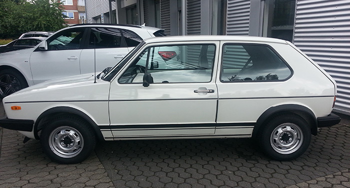 Classic Car - VW Golf GTI